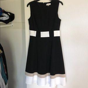 Calvin Klein professional A-line dress